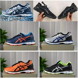 Wholesale Shoes Price Boy - 2017 Discount Price New Style Asiesx Gel-kayano 23 Running Shoes For Men Original Fashion kids,boys Sport Shoes Size 40-45 Free Shipping