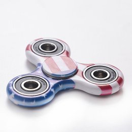 Canada Ventes chaudes Tri Spinner Doigt Gyro Camouflage Gyro Jouets Spiner Main Doigt Pour EDC TDAH Autisme Anti Stress Jouets Offre
