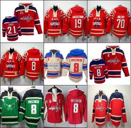 Wholesale Alexander Blue - Men's Old Time Hockey Washington Capitals 8 Alexander Ovechkin 19 nicklas backstrom 77 T.J. Oshie Hoodie