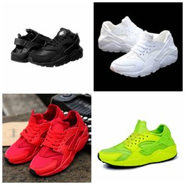 Wholesale Light Up Box - (NO Box)Air Huarache Ultra Running Shoes For Men Women,Woman Mens Black White Air Huaraches Huraches Sports Sneakers Athletic Trainers