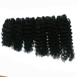 Wholesale Hair Extension Free Sample - Brazilian Cambodian Chinese Virgin Hair Piece Wavy Deep Wave Virgin Human Hair Weft Extension Dyeable No Shedding buy a lot get free samples