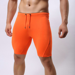 Wholesale Casual Beach Pants For Men - Wholesale-Men summer style sexy workout compressed short pants mens crossfit shorts homme bermuda masculina beach board shorts for man