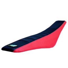 partes de honda envío gratis Rebajas DHL libera el envío 25 sets Plip Grip Seat Cover dirt dirt parts Rojo negro Para HONDA crf250 crf450 cr85 crf150 xr250 cubierta de asiento