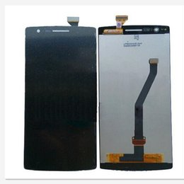 Wholesale One Display Screen - For One Plus New LCD Display With Touch Screen Digitizer Assembly for oppo 1+ oneplus free shipping