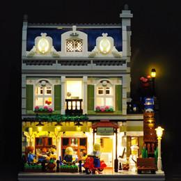 Canada Kit d'éclairage LED (seulement lumière) pour 10243 et 15010 Creator Restaurant parisien (jeu de briques de construction non compris) Offre