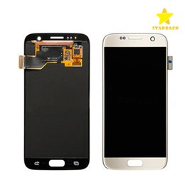 Wholesale Screen Replacement Repair Lcd Galaxy - For Samsung Galaxy S7 LCD Display Touch Screen Digitizer Touch Panels Assembly Replacement Repair Grade A+++