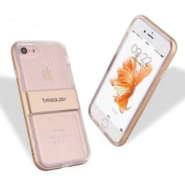 Wholesale Iphone Bumpers Pack - fashion Caseology clear transparent bumper frame combo slim case cover skin for iPhone 5 iPhone 6 iPhone 6 Plus luxury case with packing