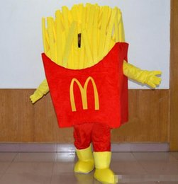 Wholesale Food Costumes Adults - Hot sale High Quality Bubble cotton McDonalds Food Mascot Costumes 100% real images for Adult Size EMS free shipping