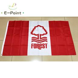 Deutschland England Nottingham Forest FC Typ B 3 * 5ft (90 cm * 150 cm) Polyester EPL flagge Banner dekoration fliegen hausgarten flagge Festliche geschenke Versorgung