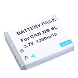 Wholesale Nb 6l - Wholesale 10pcs lot NB6L NB-6LH NB-6L Digital Batteries for Canon SX520 HS SX530 SX600 SX610 SX700 SX710 IXUS 85 95 200 210 105