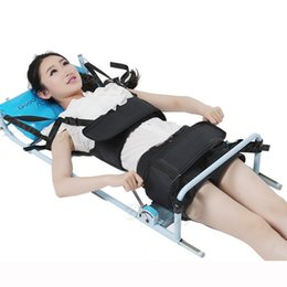 Wholesale Stretching Devices - Patented Good Efficent Cervical Spine Lumbar Spine Traction Bed Therapy Massage Body Stretching Device for Lumbago Low Back Pain