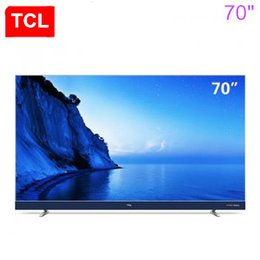 Wholesale Narrow Led - TCL 70 inch ultra-thin 4K LCD TV narrow edge Andrews intelligent LED LCD TV hot new products free shipping