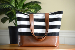 Wholesale Leather Fashion Bags Line - 1pc hot sale Large Tote Bag, Diaper Bag, Teacher, Canvas Bag, Vegan Leather, Slouchy Bag with matching color lining