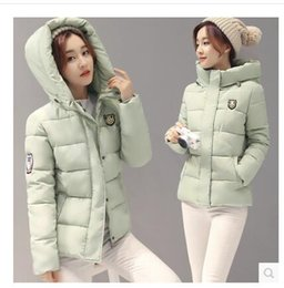 Wholesale New Korean Down Jacket - 2017 autumn and winter new women's fashion cotton jacket short section Korean students autumn thickening down jacket women winter jacket