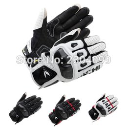 Wholesale Mesh Bicycle Gloves - Free shipping New styleTAICHI Gloves RST410 ARMED LEATHER MESH GLOVES Road Racing Bicycle Motorcycle Cycling Touch Screen Gloves