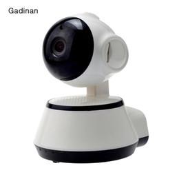 Wholesale Camera Ip Wireless Hd Sd - V380 HD 720P IP Camera WiFi Wireless Smart Security Camera Micro SD Network Rotatable Defender Home Telecam HD CCTV IOS PC