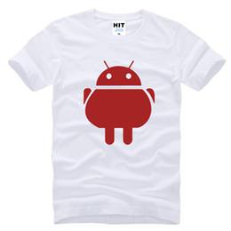 Wholesale Man Cool Tshirt - Android Robot Funny Cool Creative Mens Men T Shirt Tshirt 2016 New Short Sleeve O Neck Casual T-shirt Tee Camisetas Hombre