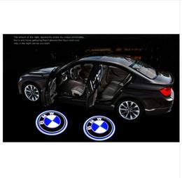2019 luzes led elantra hyundai O ENVIO GRATUITO de 2 PCS LEVOU Porta Do Carro Bem-vindo Luz Laser Sombra Levou Projetor de Iluminação Para BMW