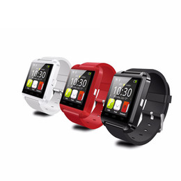 Wholesale best quality Bluetooth Watch U8 Smart watch WristWatch Smartwatch digital sport watches for Apple IOS Android phone Wearable Electronic