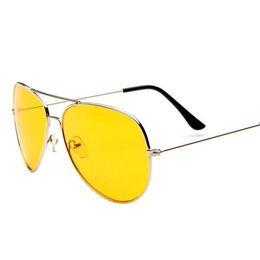 Wholesale Anti Glare Driving Glasses - Wholesale- M55 top-selling unisex summer casual eyewear glass Night Driving Glasses Anti Glare Vision Driver Safety Sunglasses