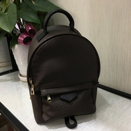 Wholesale Genuine Leather Bow Bag Women - 2016 New fashion Women Backpacks brand Design Backpack for girls Genuine Leather children Mini School Travel Bags