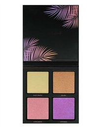 Palette 3d online-2017 HOT Brand New Beauty Summer Solstice Evidenziatore Palette 3D Highlighter Palette 4 colori Highlighter Hige Quality