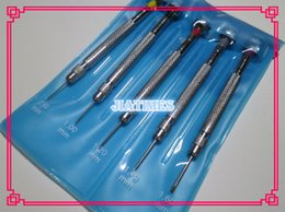 Wholesale Top Quality Screwdrivers - Wholesale- Free Shipping 5PCS TOP Quality Stainless Stainless Watch Screwdrivers For Watchmaker