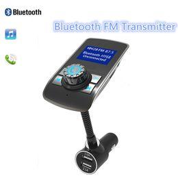 Deutschland Drahtlose Bluetooth FM Transmitter Modulator 2.1A Autoladegerät BT Freisprecheinrichtung Unterstützung TF-Karte MP3-Player FM-Radio Mit Kleinkasten Versorgung