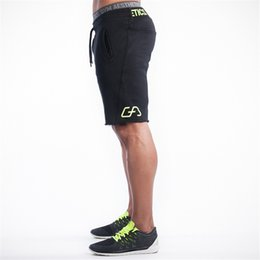 Wholesale Home Trousers Men - Wholesale-Summer leisure shorts men trousers elastic brand men shorts mens fashion fitness outer wear trousers at home