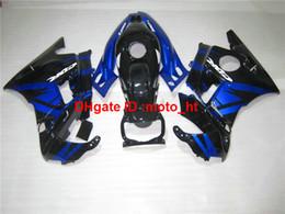 Wholesale Honda F2 1994 - Unpainted bodywork fairing kit for Honda CBR600 F2 91 92 93 94 blue black motorbike fairings set CBR600 F2 1991-1994 PQ88