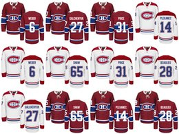 Wholesale Alex Galchenyuk Jersey - Wholesale Mens Montreal Canadiens #31 Carey Price Hockey Jerseys Ice Winter Jersey #27 Alex Galchenyuk #65 Andrew Shaw #6 Shea Weber