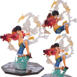 Wholesale Toy Display Pvc Box - 2017 One Piece Action Figures Fighting Luffy Anime Animation PVC Figures Collection display Model Toys 16cm with box