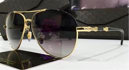 Wholesale Black Bamboos - Luxury brand designer sunglasses G 4277 classic pilots simple frame bamboo leg top quality anti-UV lens 4 colors to choose with original box