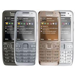 Wholesale Camera Language - Refurbished Original NOKIA E52 WIFI GPS 3G Bar Unlocked Mobile Phone Renew Cellphone Multi-Language Sample Order Link