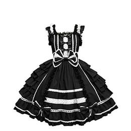 Malidaike meninas mulheres dançando festa cosplay vestido gótico lolita slim vestido de baile vestido de princesa de Fornecedores de lolita cosplay vestido