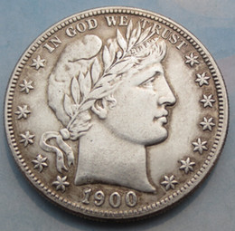Wholesale Barber Dollars - 1900s Barber Half Dollars COPY Coins Promotion Cheap Factory Price nice home Accessories Silver Coins