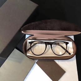 Wholesale Oval Shaped Silver Frame - 5473 Fashion Luxury Brand Glasses Oval Shape Retro Vintage Men Women Designer With Original Package Full Frame Glasses Wayferer Model Case