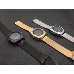 Wholesale Android X3 - X3 S7 Smart watch Smart Monitor Sleep Tracker Wearable Devices Camera MTK6261 Smartwatch for android phone Micro Sim TF card + Retail box