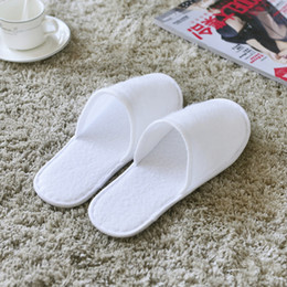 Wholesale Disposable Travel Slippers - Disposable Slippers One-time Non-slip Shoes Business Trip Convenient And Quick Home-based Slippers Hotel Bath Slippers Travel Airplane Shoes