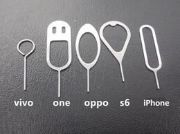 telefones clonados por atacado Desconto Metal Sim Ejetar Pinos Cartão SIM Ejetar Ferramenta Pin Agulha Para Para Samsung Galaxy NOKIA HuaWei OPPO Para telefones celulares