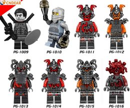 Wholesale Royal Guard - PG8054 Super Heroes Imperial Royal Guards With Gun figures Assemble Figure Building Blocks Kids Birthday Gift Toy