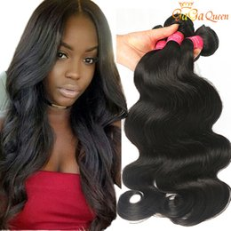 Wholesale Human Hair Extensions 16 Inch - 8A Brazilian Body Wave Hair Unprocessed Brazilian Virgin Remy Human Hair Extensions 3 4 Bundles Deals Brazilian Hair Weave Bundles Body Wave