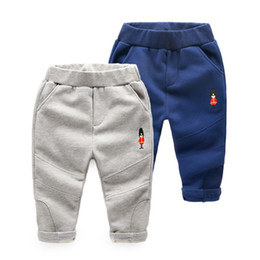 Wholesale Cargo Pants For Boys - 2017 New boys pants spring summer kids pants solid cotton fashion pant boy clothes children pants trousers for boys 2-7 Year