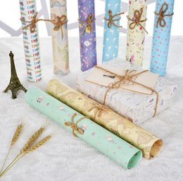 Wholesale Christmas Gift Wrap Sale - Hot Sale 50*70cm 12pcs DIY gift Wrapping Paper for birthday party Christmas gifts decorate Packaging creative papercraft art paper