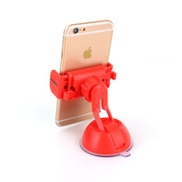 Wholesale Gps Parts - Wholesale-Universal Sucker Adjustable Car Phone Gps Camera Mount Holder Stand Adsorbed On Glass Window Mobile Phone Accessories and Parts