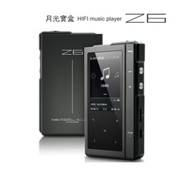 Wholesale Card Voice Recorder - Wholesale- 2016 Original Moonlight AIGO Z6 Hard DSD MP3 Player CS4398 DAC Hifi Music Player Dual-Core CPU With 32G TF Card + Leather Case