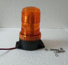 Wholesale Amber Flashing Beacon - DC12V-110V 15W Led Car truck van warning lights,emergency light, strobe light,amber flashing beacon,mount by bolts,waterproof