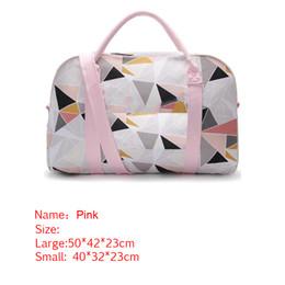 Wholesale Outdoor Wholesale Bag Canvas - Fashion VS Pink Canvas Handbag Sport Love Letter Outdoor Travel Gym Yoga Beach Shoulder Bags Girls Waterproof Duffle Fitness Bag Hot