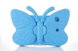 2019 дети шок доказательство ipad покрытие Чехол 3D бабочка для детей для iPad 2 3 4 9.7 дюймов Ева противоударный чехол с ручкой для детей