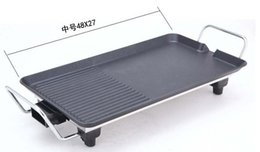 Wholesale Use Grill - Wholesale- free shipping bbq grill fashion cooking pan ovenware electric home use